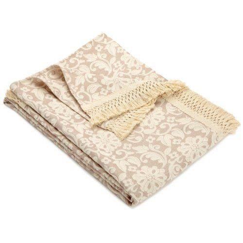 hagemann aida jet de canap lit marron 280 x 2 achat vente couverture plaid cdiscount. Black Bedroom Furniture Sets. Home Design Ideas