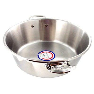 bassine confitures vas e mauviel 36 cm m 39 cook achat vente bassine de cuisson bassine. Black Bedroom Furniture Sets. Home Design Ideas