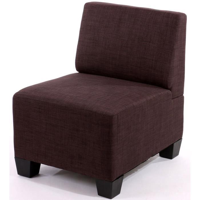 fauteuil modulable sans accoudoirs lyon brun l achat. Black Bedroom Furniture Sets. Home Design Ideas