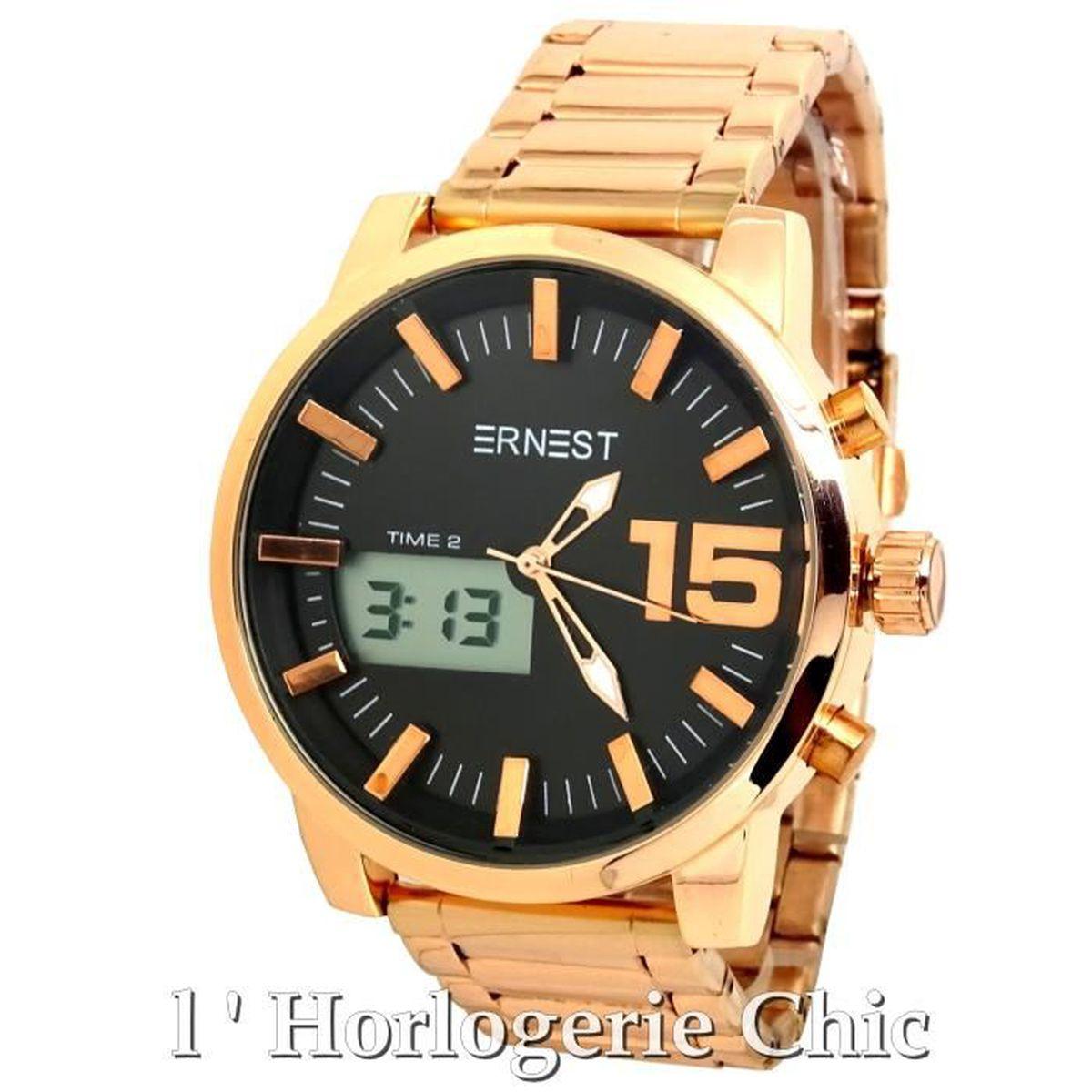 a5d8e69ff170d montre homme cuivre,montre classe pour homme acier couleur cuivre