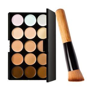 TROUSSE DE MAQUILLAGE Palette Correcteur Crème de Camouflage 15 Couleurs