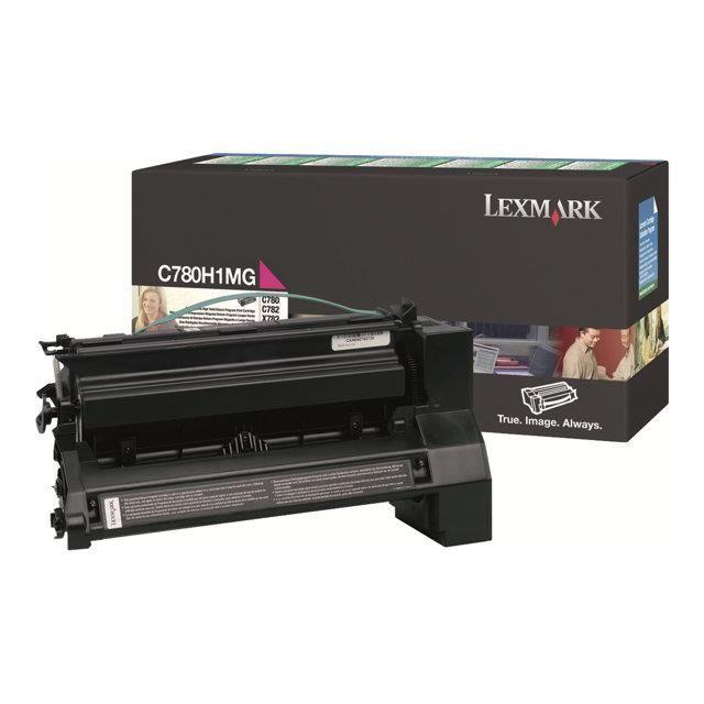 Lexmark - Cartouche de toner - à rendement élevé - 1 x magenta - 10000 pages - LRP / LCCP