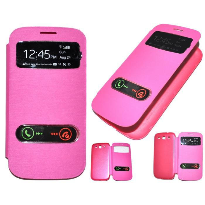 Housse chaussette etui housse coque rose s view galaxy for Housse samsung galaxy note