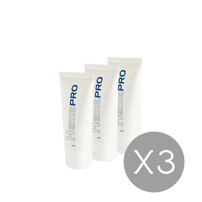 3 Hemapro Cream: Crème pour éliminer les hémorroides