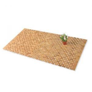 Tapis de salle de bain cailleboti bambou 50x80cm achat for Tapis de salle de bain zen