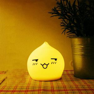 LAMPE A POSER Lumière Nuit Changement de couleur Capteur de cont