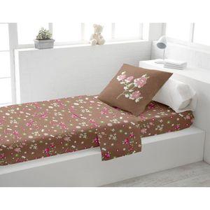 parure de lit 90 190 achat vente parure de lit 90 190 pas cher cdiscount. Black Bedroom Furniture Sets. Home Design Ideas