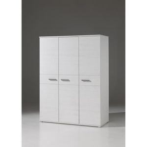 ARMOIRE DE CHAMBRE SOFIE Armoire de chambre 150 cm - Blanc