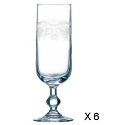 120 flutes à champagne Luminarc à louer à Versailles  Zilok