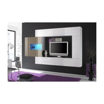 Meuble tv hifi design banc de salon cuisine int rieur pas - Meuble de cuisine en bois pas cher ...