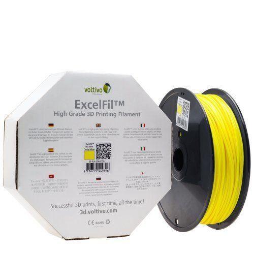 voltivo excelfil fil pour imprimante 3d 1 75 mm jaune prix pas cher cdiscount. Black Bedroom Furniture Sets. Home Design Ideas