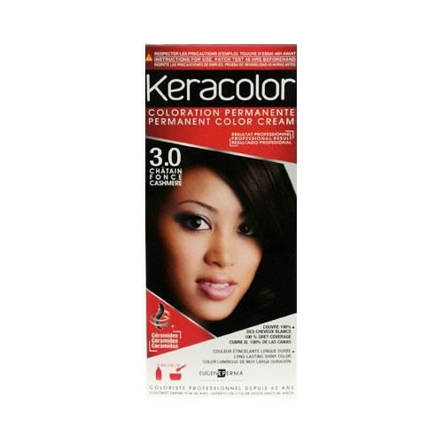 coloration kit keracolor 30 chatain fonce - Coloration Chatain Fonce