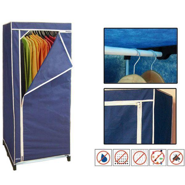 Armoire de rangement avec penderie achat vente armoire de chambre armoire - Cdiscount armoire de rangement ...