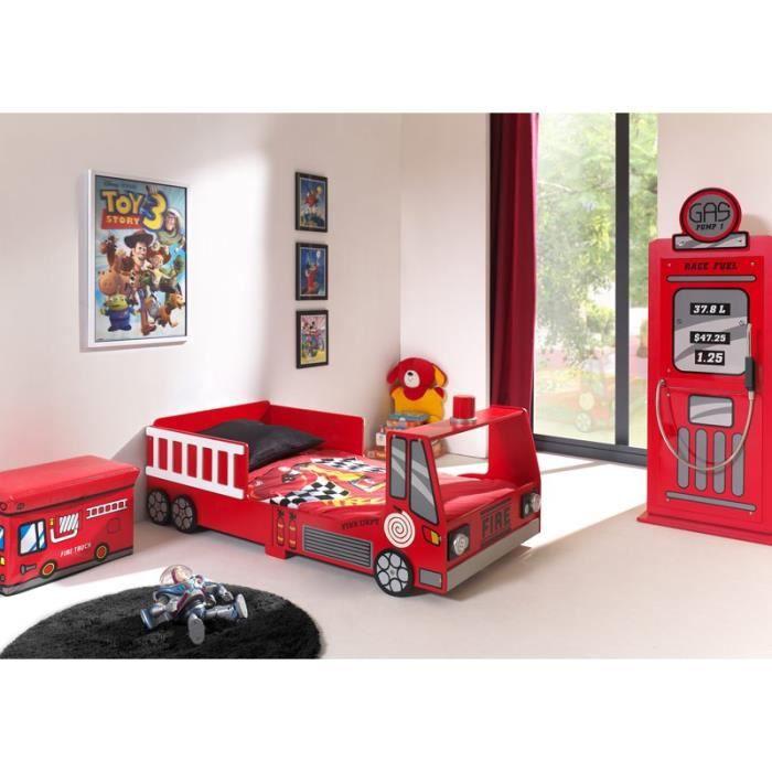 paris prix pack lit enfant pompier armoire 1 porte. Black Bedroom Furniture Sets. Home Design Ideas
