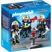UNIVERS MINIATURE PLAYMOBIL 5366  Unité de Pompiers