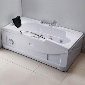 baignoire achat vente baignoire pas cher cdiscount. Black Bedroom Furniture Sets. Home Design Ideas