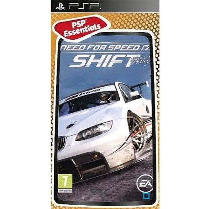 JEUX PSP NEED FOR SPEED SHIFT Essentials / Jeu console PSP