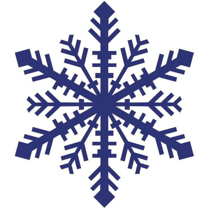 Six c te flocon de neige 50 cm hauteur 50 c achat - Flocon de neige decoration ...