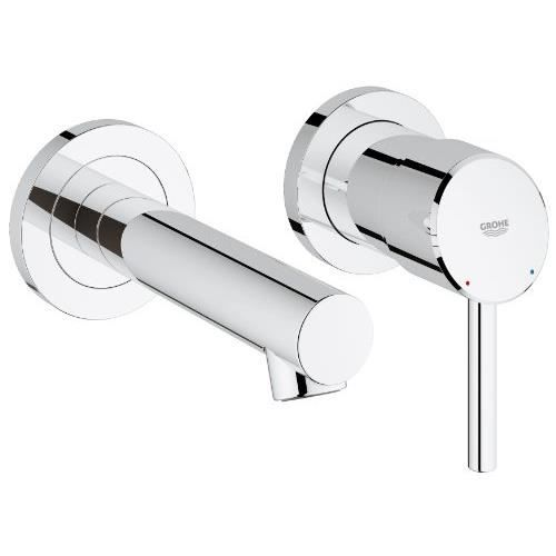 grohe concetto mitigeur lavabo montage mural 19 achat vente - Schema Montage Robinet Grohe