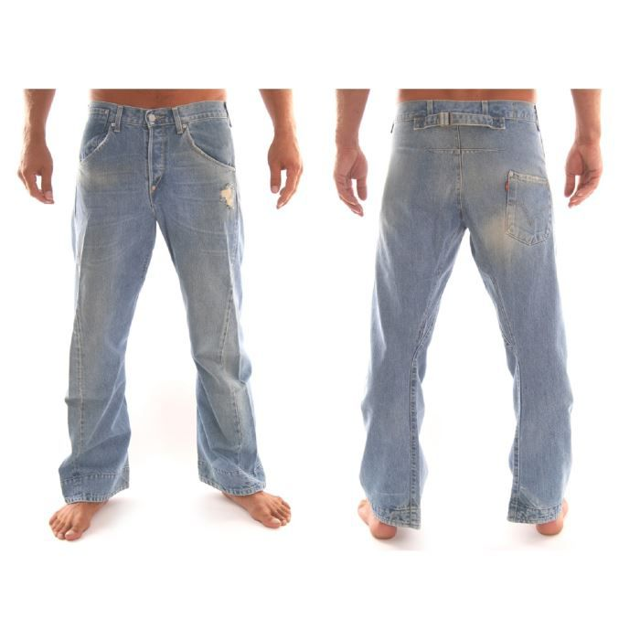 jeans levis engineered homme loo bleu achat vente jeans jeans levis engineered homm. Black Bedroom Furniture Sets. Home Design Ideas