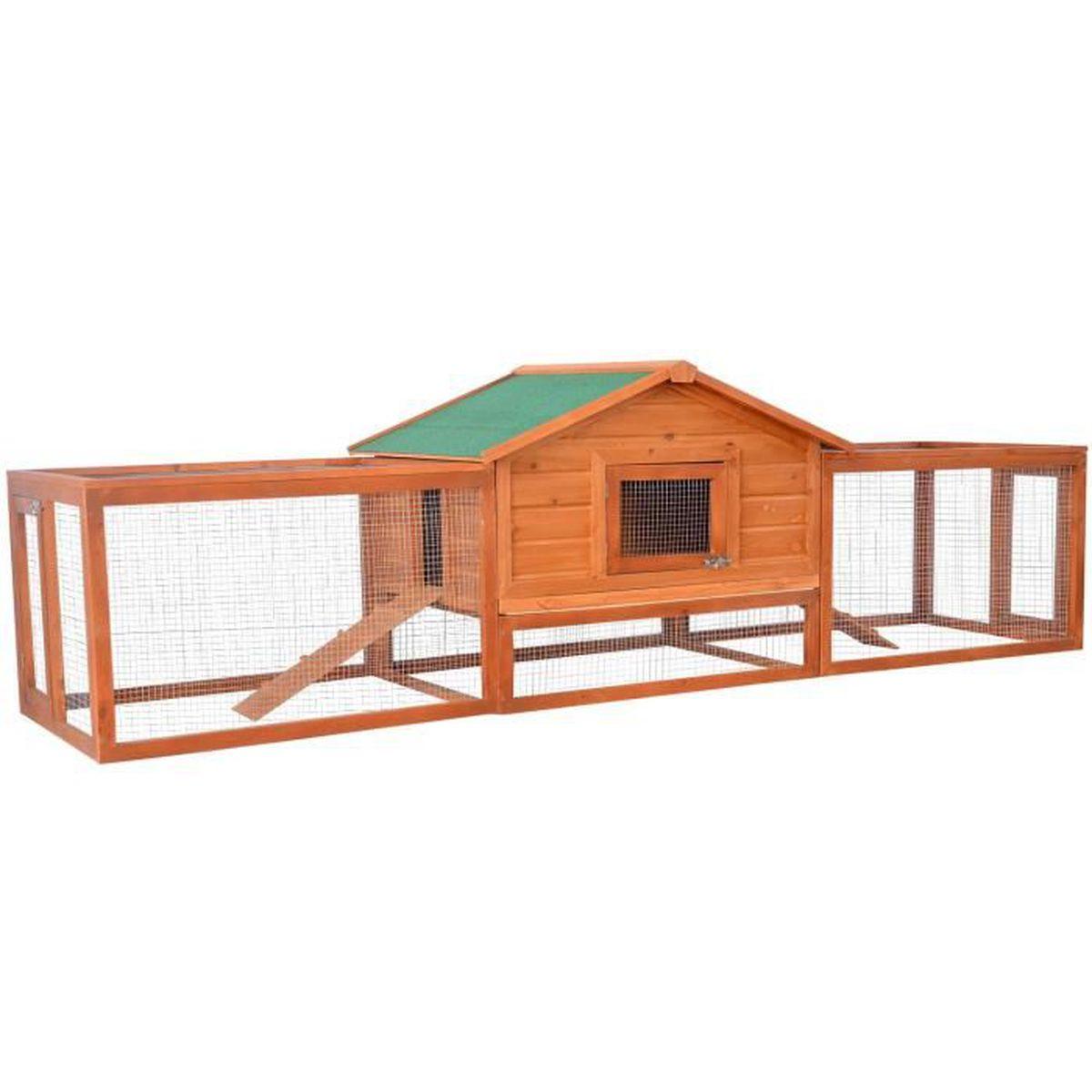 animalerie ferme basse cour poulailler clapier parc enclos cage pour lapin pou f  auc