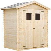 ABRI JARDIN - CHALET Abri de jardin en bois 1,98 m² en sapin FSC - 180x