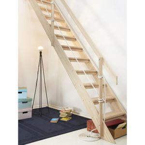 escalier bois achat vente escalier bois pas cher les soldes sur cdiscount cdiscount. Black Bedroom Furniture Sets. Home Design Ideas