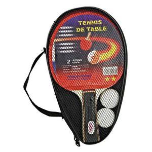 Raquette ping pong achat vente pas cher cdiscount - Raquette de tennis de table butterfly ...
