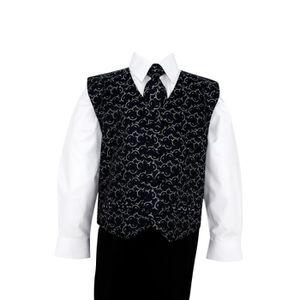 COSTUME - TAILLEUR Costume enfant noir et blanc Noa - Noir