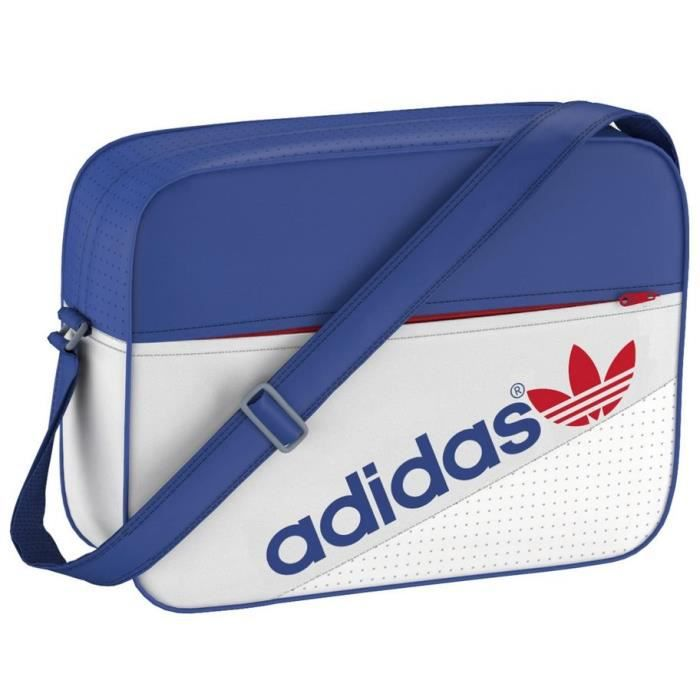 sac bandouli re scolaire adidas airline perfor achat vente sacoche 2009971707367 cdiscount. Black Bedroom Furniture Sets. Home Design Ideas