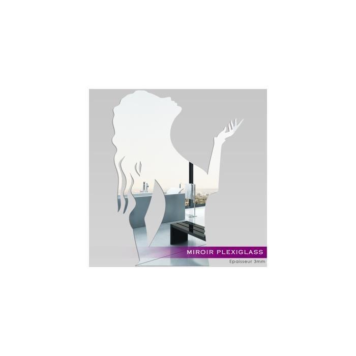 Miroir plexiglass acrylique femme ref mir 147 achat for Miroir qui s ouvre
