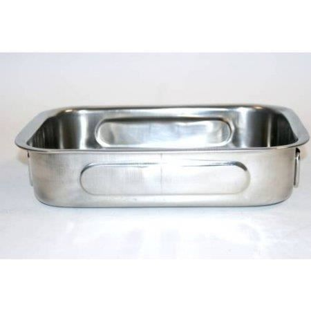 Plat a four crealys inox 27 x 20 x 6 cm a06 500536 achat for Plat cuisson inox