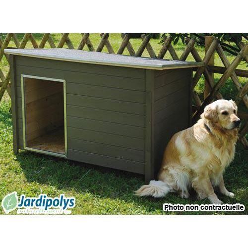 niche pour chien modern xxl jardipolys achat vente niche niche pour chien modern xxl. Black Bedroom Furniture Sets. Home Design Ideas