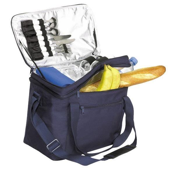 Sac pique nique isotherme bleu marine achat vente panier pique nique sac pique nique - Petit sac isotherme repas ...