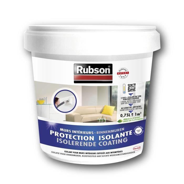 Rubson protection isolante murs int rieurs blanc achat vente peinture v - Peinture isolante castorama ...