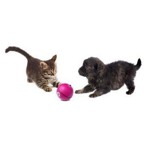 D&D Adventure Magic Balle - ?8cm - Rose - Pour chien et chat