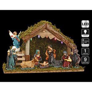 Decoration de noel creche achat vente decoration de - Decoration lumineuse de noel pas cher ...