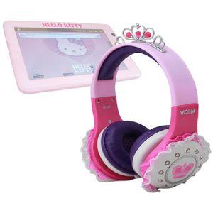 CASQUE - ÉCOUTEUR AUDIO Casque audio princesse pour tablette Hello Kitty H