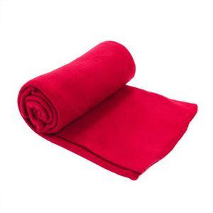 plaid rouge achat vente plaid rouge pas cher. Black Bedroom Furniture Sets. Home Design Ideas