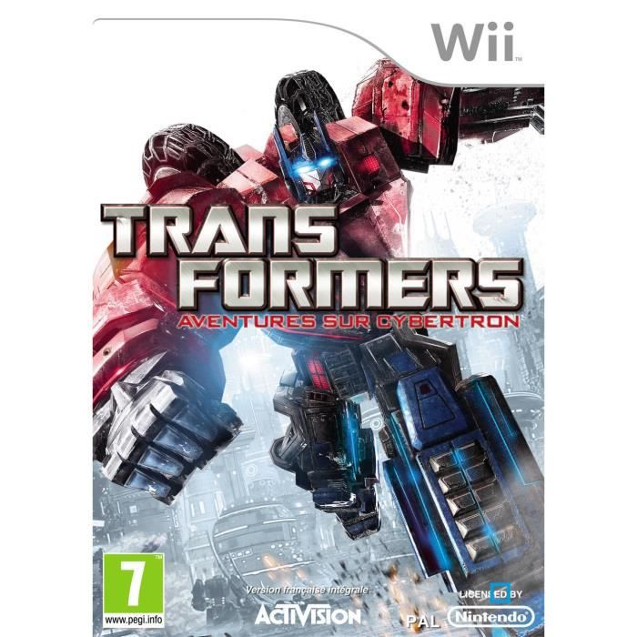 JEUX WII TRANSFORMERS : La guerre pour Cybertron / Jeu Wii