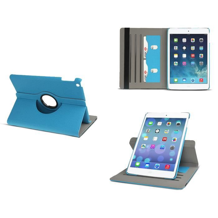 tui inclinable rotatif bleu pour ipad air 2 prix pas. Black Bedroom Furniture Sets. Home Design Ideas
