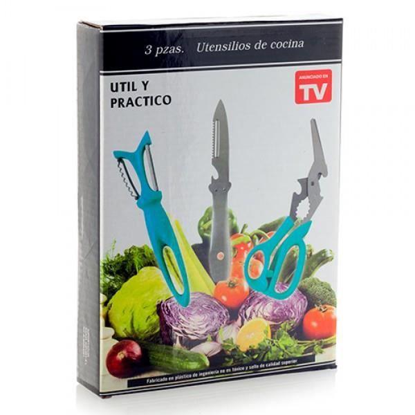 3 ustensiles de cuisine plucheur couteau cis achat for Ustensiles de cuisine soldes
