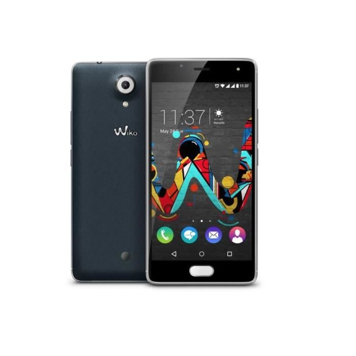 smartphone wiko u feel slate dual sim 16go vos marques tendances achat smartphone. Black Bedroom Furniture Sets. Home Design Ideas
