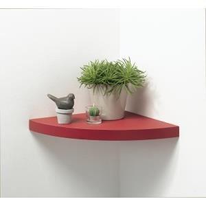 etag re d 39 angle flottante de 25 cm de rayon c achat vente etag re murale etag re d. Black Bedroom Furniture Sets. Home Design Ideas