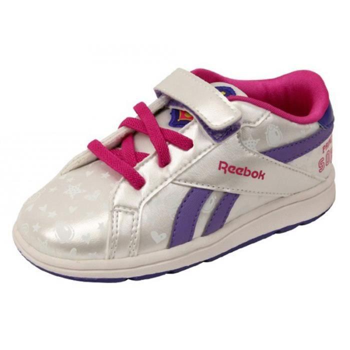 BASKET SOFIA COURT LOW BB GRI - Chaussures Bébé Fille Ree