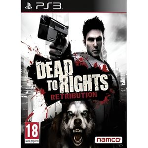 JEU PS3 DEAD TO RIGHTS RETRIBUTION / JEU PS3