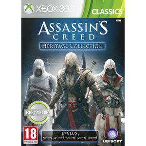 JEUX XBOX 360 ASSASSIN'S CREED HERITAGE COLLECTION / XBOX 360