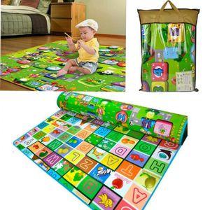 tapis epais bebe achat vente jeux et jouets pas chers. Black Bedroom Furniture Sets. Home Design Ideas
