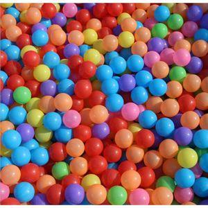 BALLES PISCINE À BALLES 50pcs / lot 5.5cm enfants jouets balles en plastiq