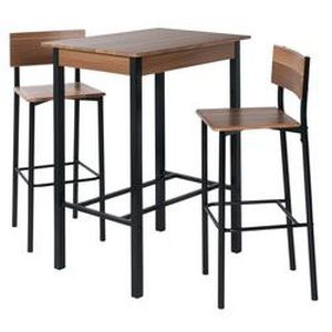 meuble table moderne table haute de cuisine but. Black Bedroom Furniture Sets. Home Design Ideas
